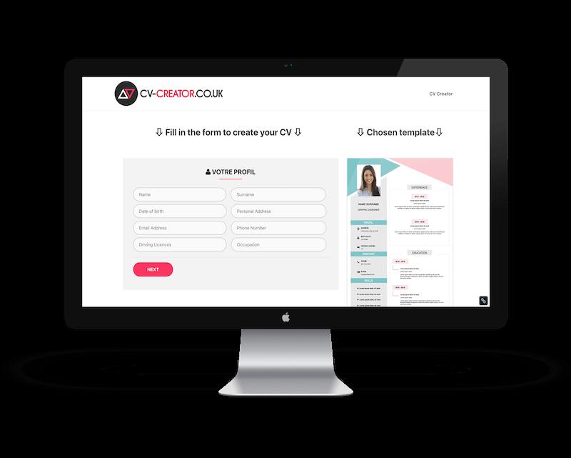 cv creator site