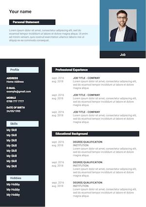 cv design template